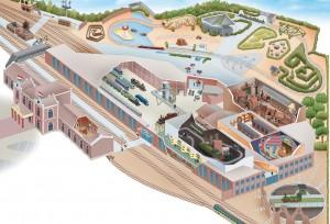 Spoorwegmuseum Map