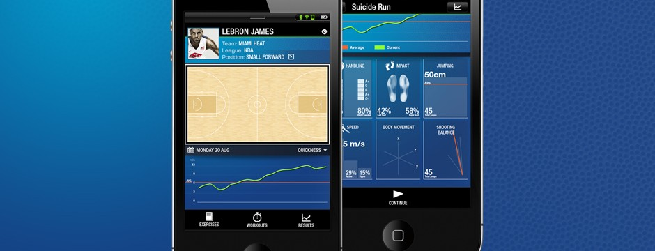 Challengers - Basketball training app for iPhone/iPod